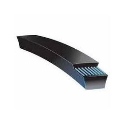 3L180 Fractional V belt, Outside Length: 18in