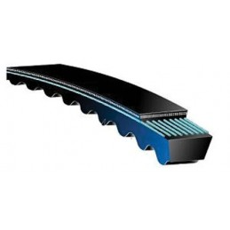 BX35 / Raw edge cogged Belt 35 in Inside Length