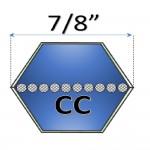 Correas Hexagonales Tipo CC