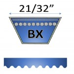 "21/32"" BX cogged belts"