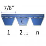 """7/8"""" - C Banded Belts"""