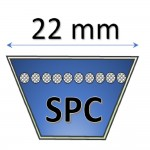 22 mm - SPC Metric Belts