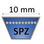 10 mm - SPZ Metric Belts