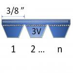 """3/8"""" - 3V Banded Belts"""