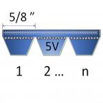 """5/8"""" - 5V Banded Belts"""