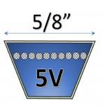 Correas en V Tipo 5V