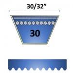 """30/32"""" - 30 Automotive Belts"""