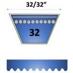"""32/32"""" - 32 Automotive Belts"""
