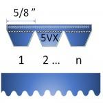 """5/8"""" - 5VX Cogged Banded Belt"""