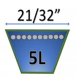 Correa Trapezoidal en Kevlar 5L