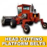HEAD CUTTING PLATFORM BELTS